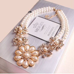 Beautiful Statement Necklace With Beautiful Detail